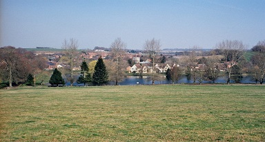 St Mary Bourne Lake - High View